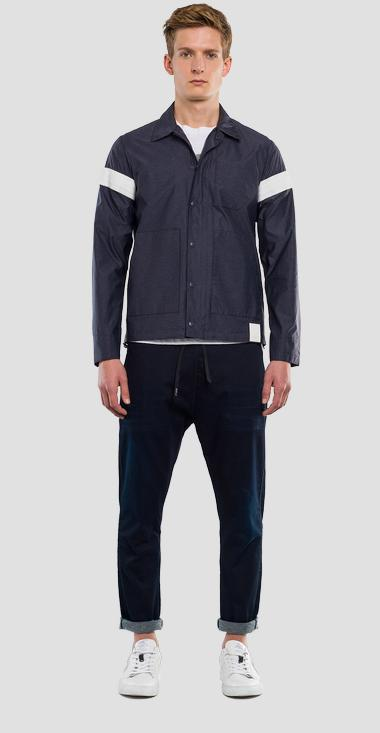 Jacket with contrasting stripes REPLAY SPORTLAB - Replay M8983_000_S83382_010_1