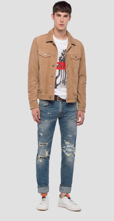 Suede Jacket - Replay M8989_000_83394_041_1