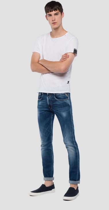 slim fit Anbass jeans Aged 1 year - Replay M914Y_000_141-431_007_1