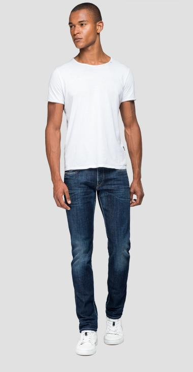 Slim fit Anbass jeans aged 1 year - Replay M914Y_000_141-590_007_1
