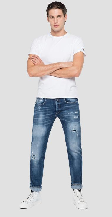 Slim fit aged 10 years Sustainable Cycle Anbass jeans - Replay M914Y_000_141-706_009_1