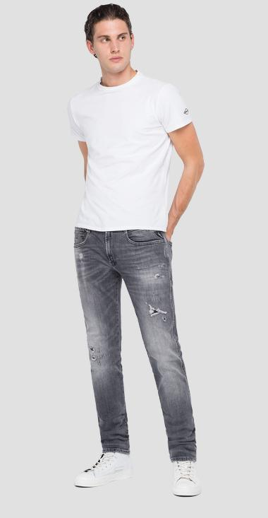 Slim fit aged 10 years Organic Anbass jeans - Replay M914Y_000_199-705_096_1