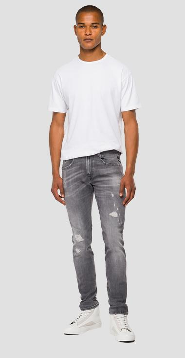 Aged 10 years Organic cotton slim fit Anbass jeans - Replay M914Y_000_199-928_096_1