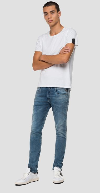 Slim Fit Jeans Anbass Hyperflex Bio - Replay M914Y_000_661-A05_009_1