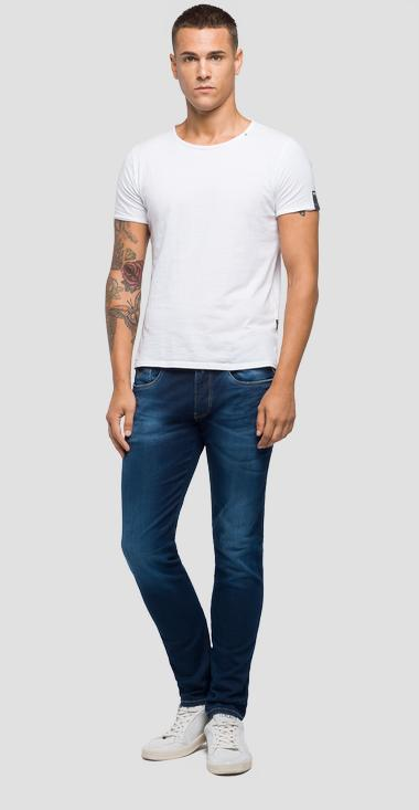 Jeans slim fit Hyperflex Laserblast Anbass - Replay M914Y_000_661-L01_007_1