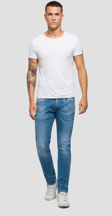 Jeans slim fit Hyperflex Laserblast Anbass - Replay M914Y_000_661-L03_010_1