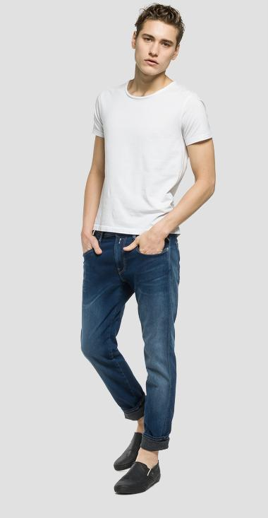 Anbass Hyperfree slim fit jeans - Replay M914_000_49B-A02_009_1