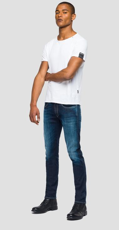 Slim-fit jeans Anbass Hyperflex - Replay M914_000_661-02D_009_1