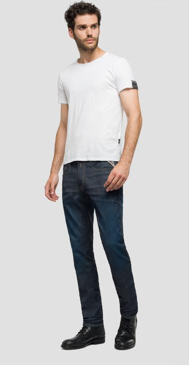 Jeans slim fit Hyperflex Anbass - Replay M914_000_661-519_007_1