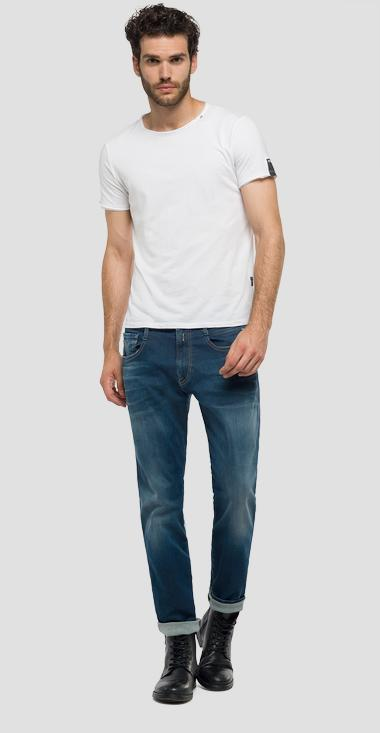 Anbass Hyperflex slim fit jeans - Replay M914_000_661-604_007_1