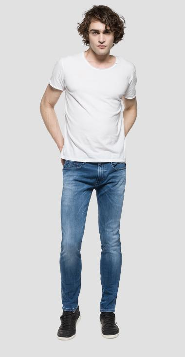 Slim Fit Jeans Hyperflex Anbass - Replay M914_000_661-808_010_1