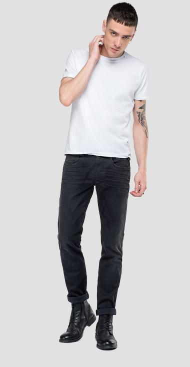 Slim fit Hyperflex Anbass jeans Clouds - Replay M914_000_661-E01_098_1