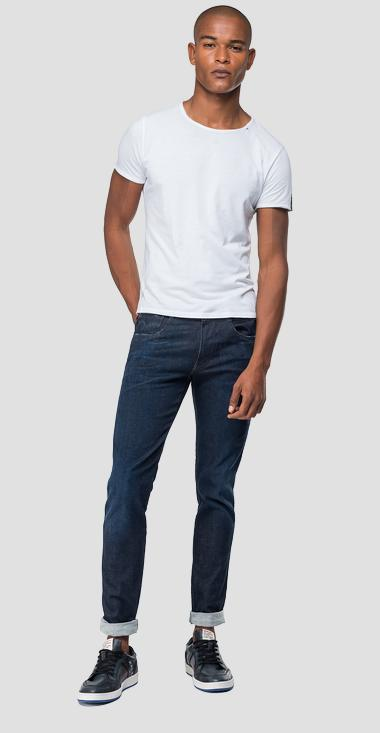 Slim fit Hyperflex Anbass jeans Clouds - Replay M914_000_661-E03_007_1