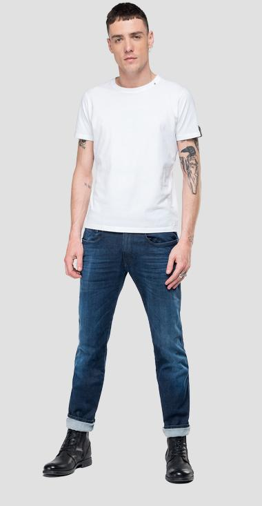 Slim fit Hyperflex Anbass jeans Clouds - Replay M914_000_661-E05_007_1