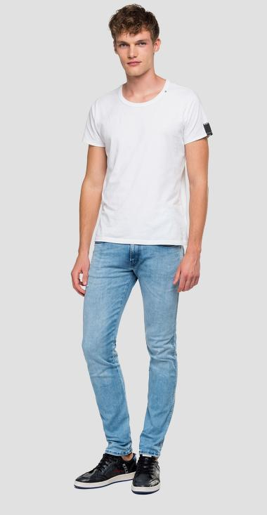 Slim fit Hyperflex Anbass jeans Clouds - Replay M914_000_661-E07_010_1