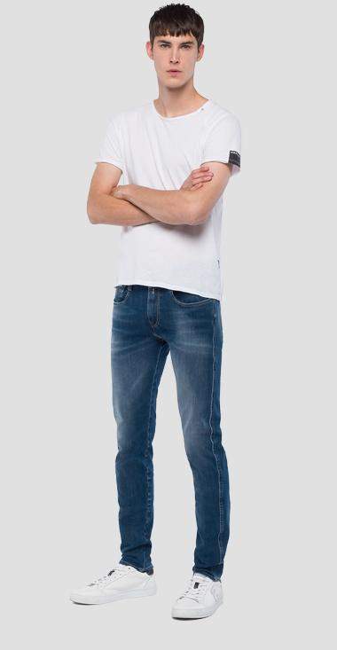 Slim Fit Jeans Anbass Hyperflex+ - Replay M914_000_661-S16_009_1