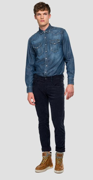 Slim Fit Hose Anbass - Replay M914_000_8082990_140_1
