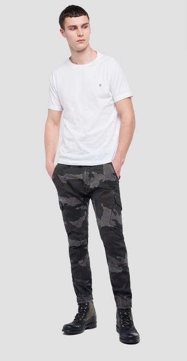 Chino jogger camo print - Replay M9602A_000_71537F_010_1