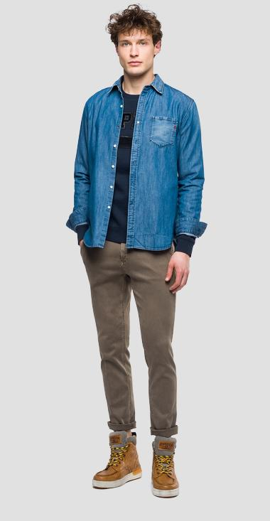 Slim fit Zeumar Hyperchino Color jeans - Replay M9627L_000_8166197_300_1