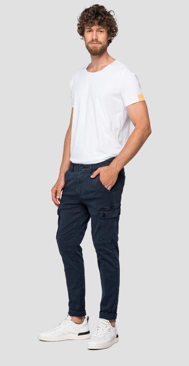 Slim fit Jaan Hyperflex Color jeans - Replay M9649_000_8166197_010_1