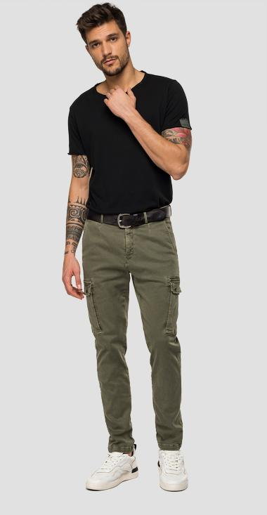 Slim fit Jaan Hyperflex Color jeans - Replay M9649_000_8166197_677_1