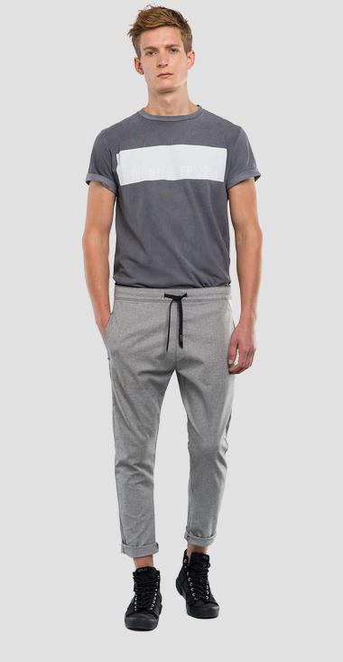 Pantalon de jogging coupe loose à cordon de serrage REPLAY SPORTLAB - Replay M9656_000_S51831_010_1