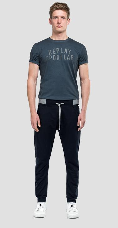 Sporty trousers with drawstring sportlab - Replay M9672_000_S231409_001_1