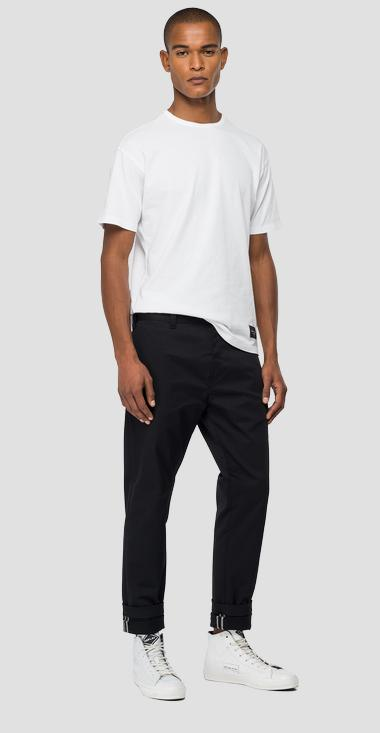 Tailored stretch Chino trousers M9676S_000_8087907_098_1