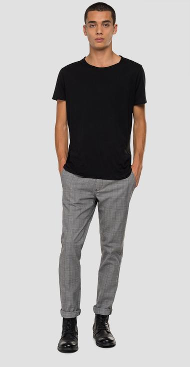 Comfort fit chino trousers - Replay M9677L_000_52178_010_1