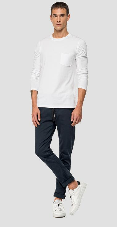 Chino Slim fit Joseph Hyperflex - Replay M9678_000_8166197_010_1