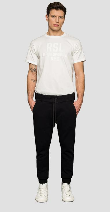 SPORTLAB cotton trousers - Replay M9679_000_S22906_098_1