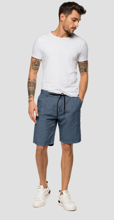 Replay bermuda shorts with drawstring - Replay M9696_000_83670G_997_1