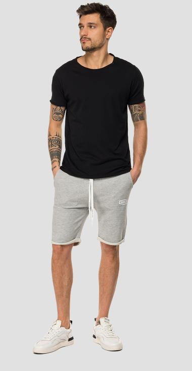 REPLAY fleece bermuda shorts - Replay M9701_000_22390P_M10_1