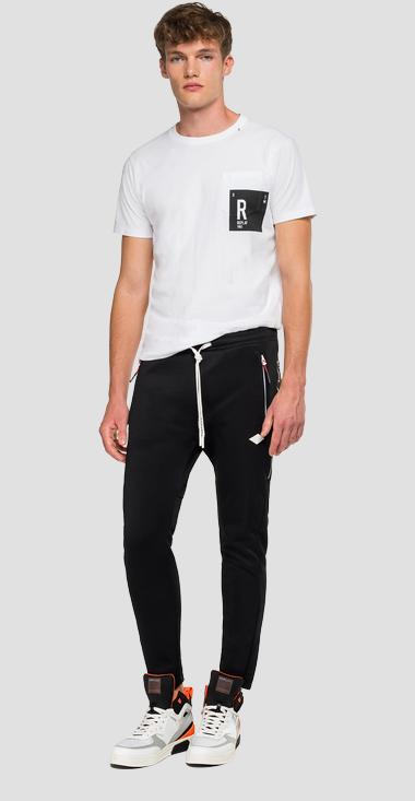Jogger with gothic lettering - Replay M9706_000_22610_098_1