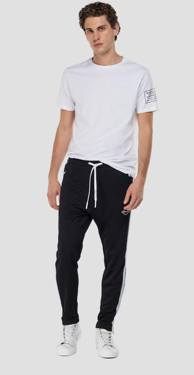 Replay trousers in technical fabric - Replay M9723_000_22610_098_1
