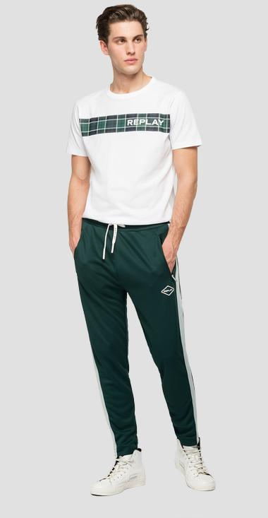 Replay trousers in technical fabric - Replay M9723_000_22610_832_1