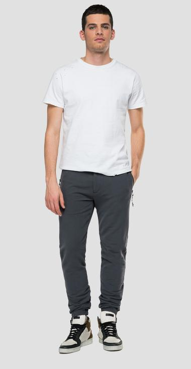 Essential Regular fit jogger pants in cotton - Replay M9778_000_23182_294_1