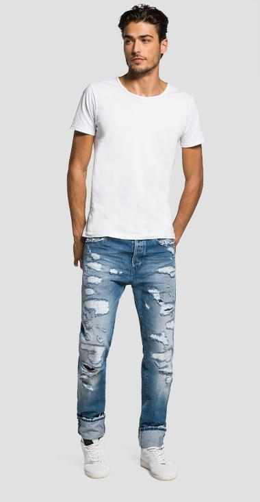 Rbj.901 tapered-fit jeans - Replay MA901_000_36C966R_010_1