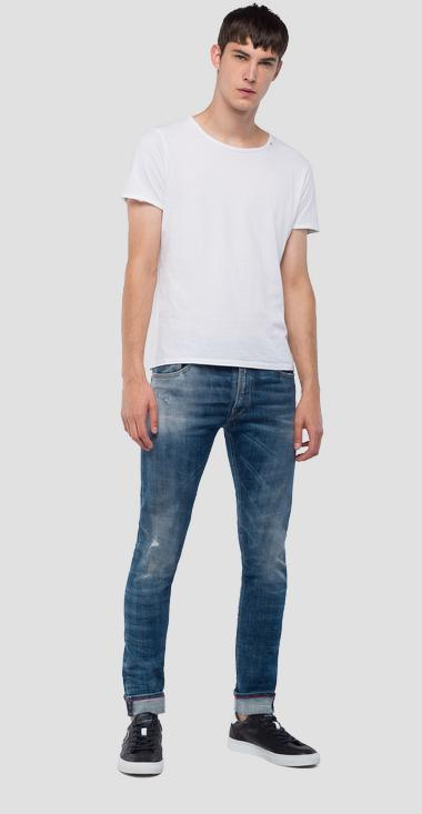 Jean coupe skinny Jondrill Aged 5 years - Replay MA931_000_141-456_009_1