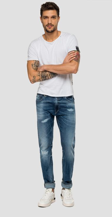 Jean coupe skinny Jondrill Aged 10 years - Replay MA931_000_141-640_009_1