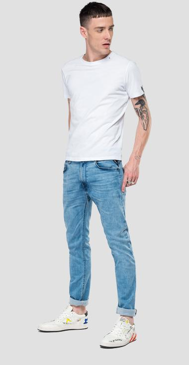 Skinny fit Hyperflex Jondrill jeans Clouds - Replay MA931_000_661-E07_010_1