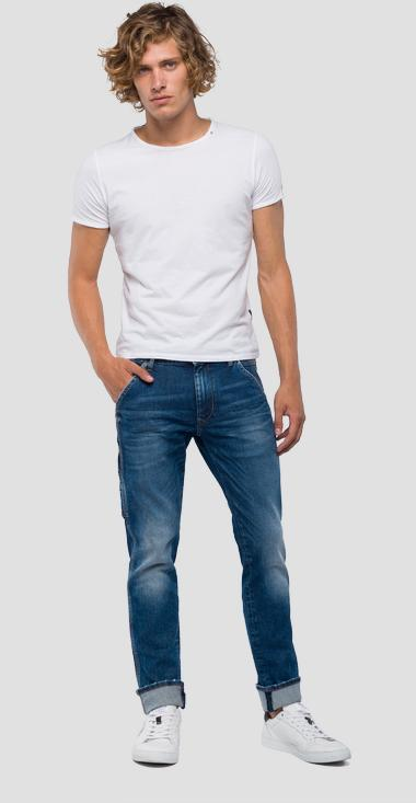 Slim fit low crotch Dhyno jeans - Replay MA945_000_93C-448_009_1