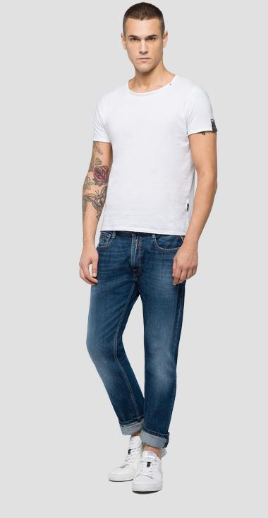 Straight tapered fit Rob jeans - Replay MA950_000_174-406_007_1