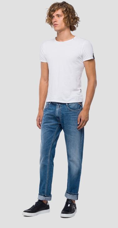 Straight tapered fit Rob jeans - Replay MA950_000_174-408_009_1