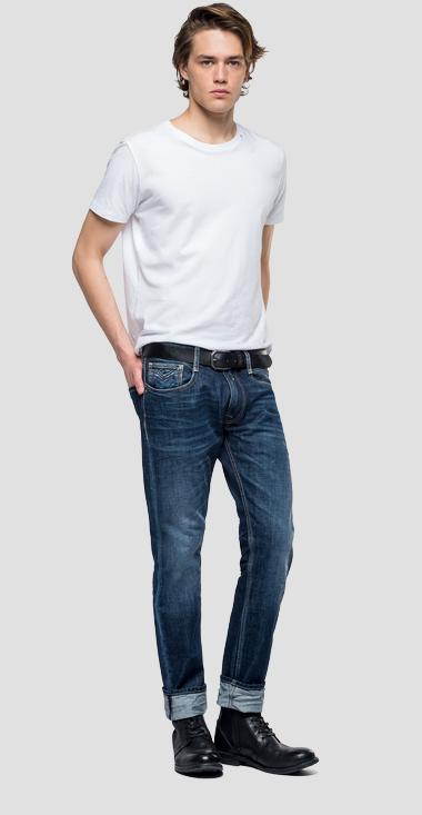 Straight tapered fit Rob jeans - Replay MA950_000_174-566_007_1