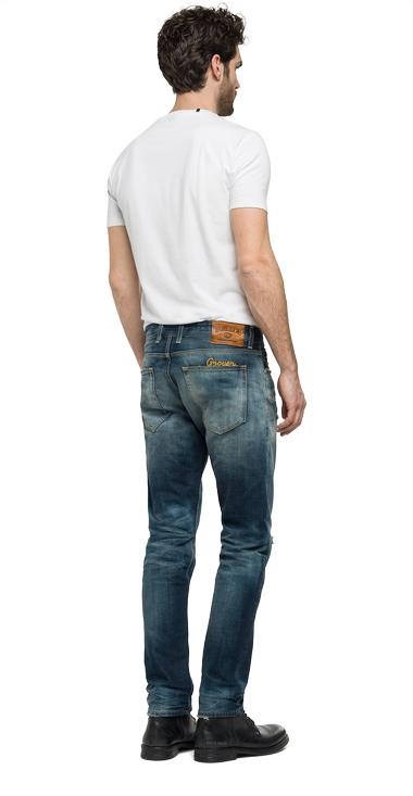 Grover Straight Fit Jeans Replay
