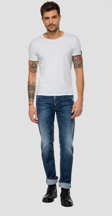 Straight fit Grover jeans - Replay MA972_000_115-631_007_1