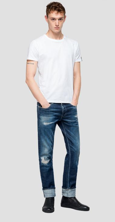Straight fit Grover jeans aged 10 year - Replay MA972_000_141-594_009_1