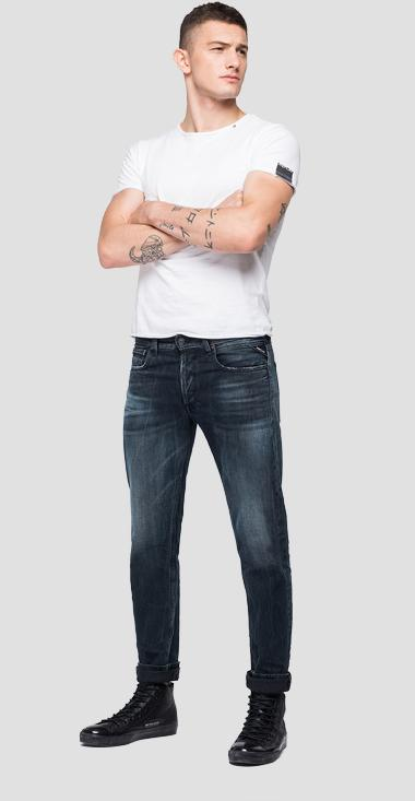 REPLAY BLUE JEANS straight fit Grover jeans - Replay MA972_000_321-745_007_1