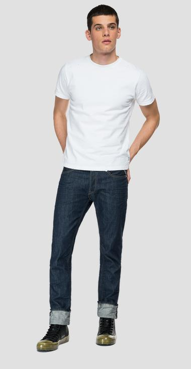 Straight fit Aged Eco 0 Years Organic Cotton jeans - Replay MA972_000_356-930_007_1